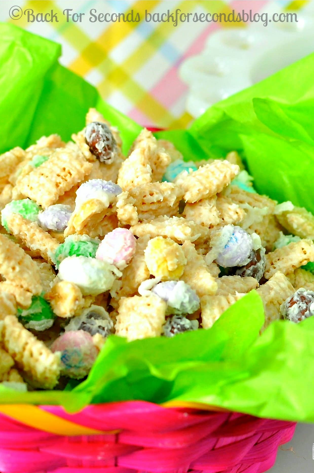 Coconut Easter Munch Mix - Back for Seconds