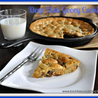 Deep Dish Gooey Cookie Pie