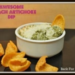 Awesome Spinach Artichoke Dip