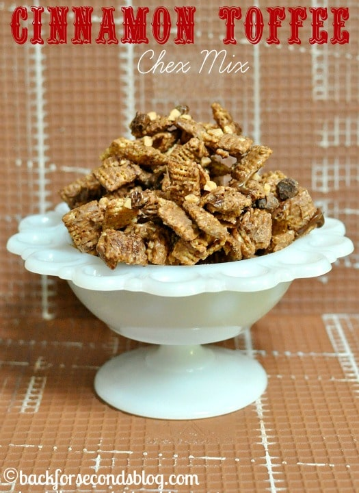 Cinnamon Toffee Chex Mix