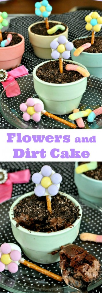 Dirt and Flower Pot Cakes