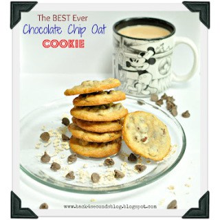 Best Ever Chocolate Chip Oat Cookies