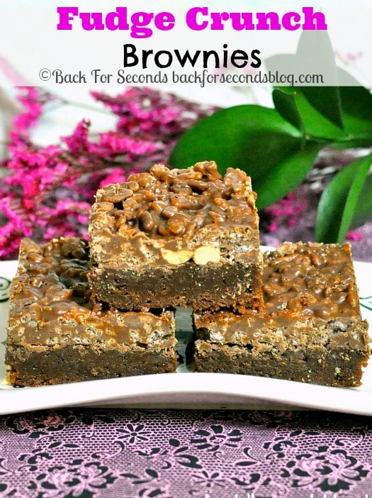 Better Than Crack Brownies @Backforseconds #brownierecipe #crackbrownies #fudge