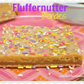 Fluffernutter Blondies