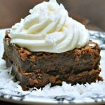 Double Decker Coconut Cream Brownies