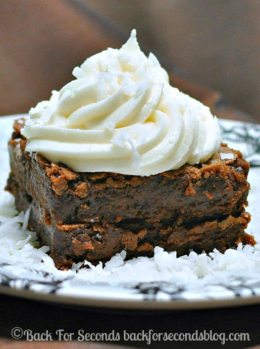 Coconut Cream Brownie Recipe