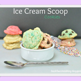 Ice Cream Scoop Cookies – Fabulous Foodie Fake Outs!