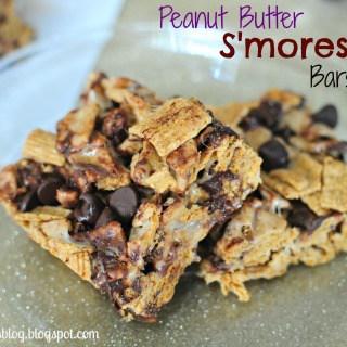 Peanut Butter Smores Bars #dessert #nobake #smores