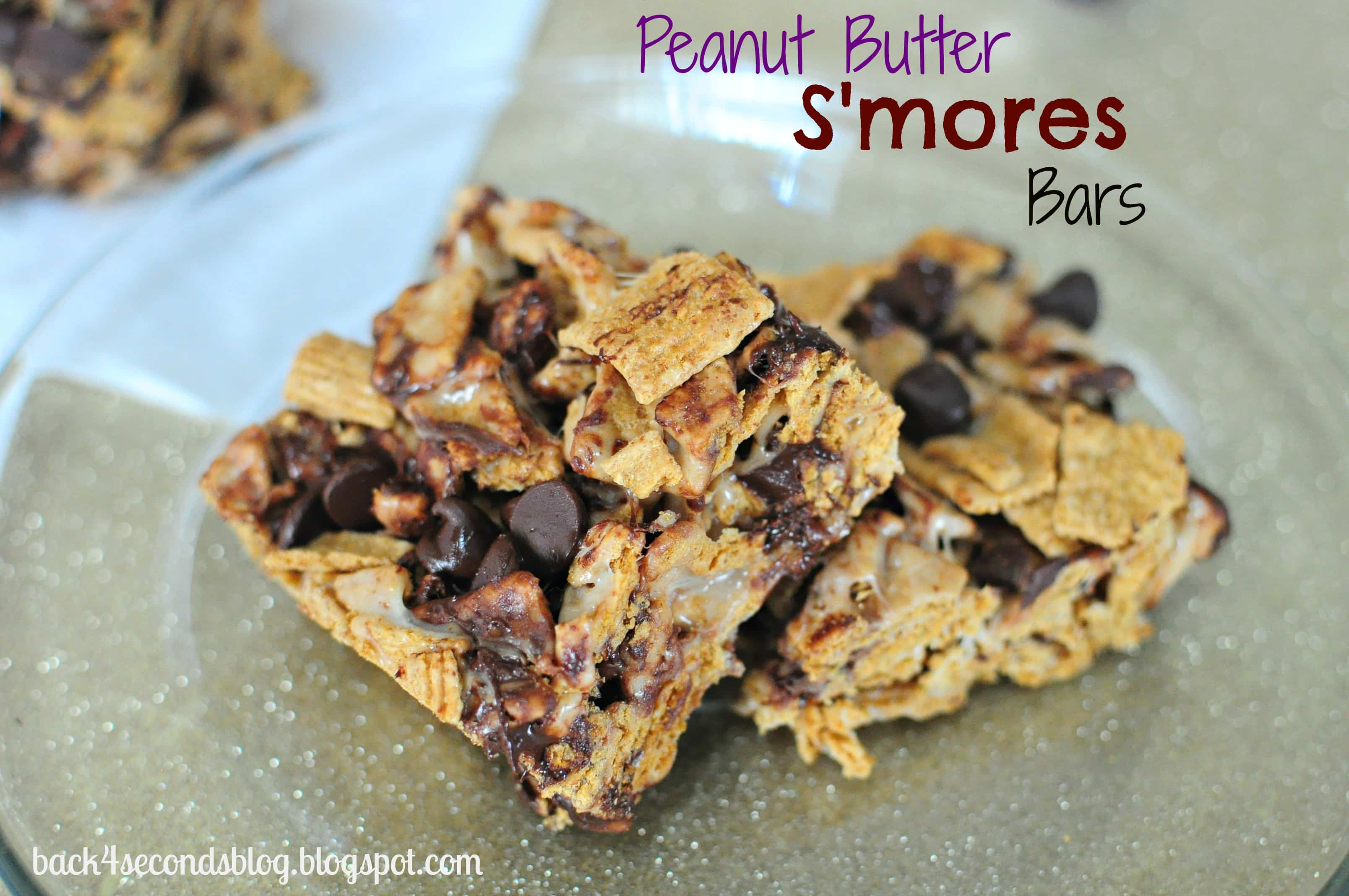 Peanut Butter S'mores Bars - Back for Seconds