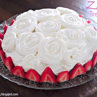 Zebra Tres Leches Cake