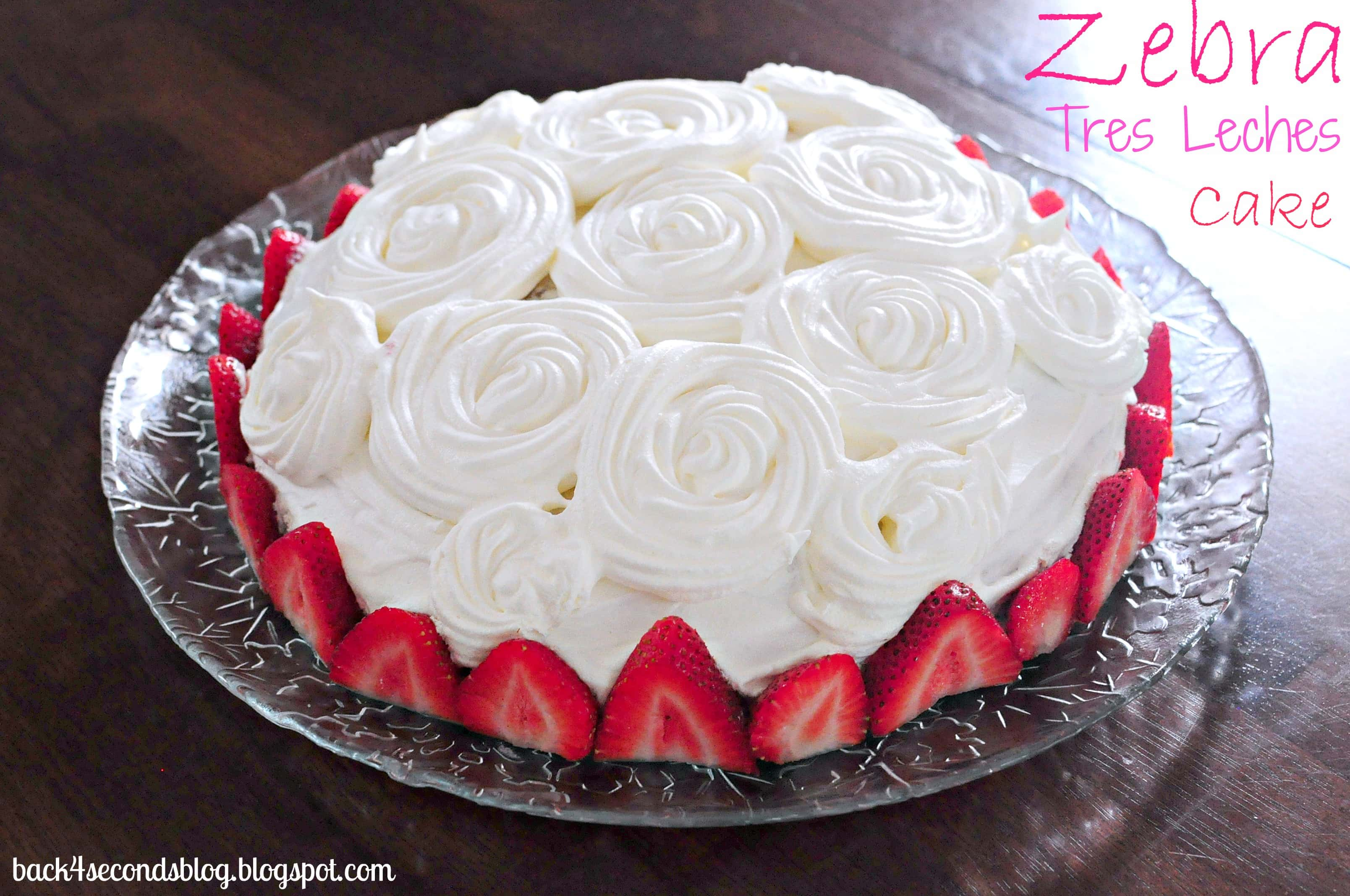 Single Serving Tres Leches Cake