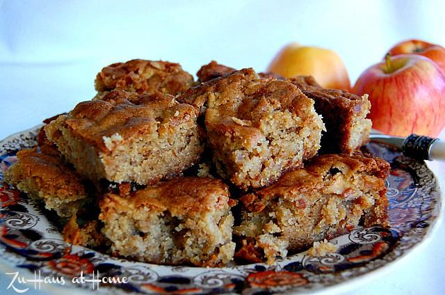 Apple-Butterscotch-Brownies