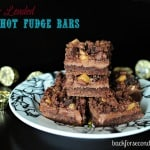 Fully Loaded Hot Fudge Bars and {Pick Your Plum GIVEAWAY}