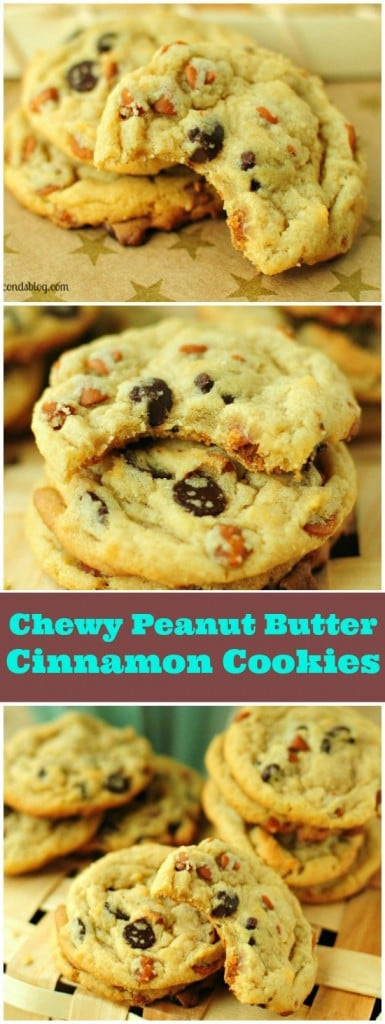 Peanut Butter Cinnamon Cookies