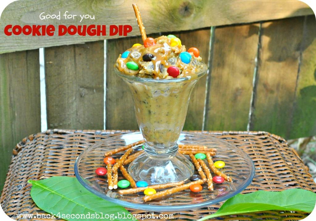 Skinny Cookie Dough Dip by Back For Seconds