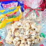 Butterfinger & Toffee Candy Crunch Mix and Chocolate Jingle Bars