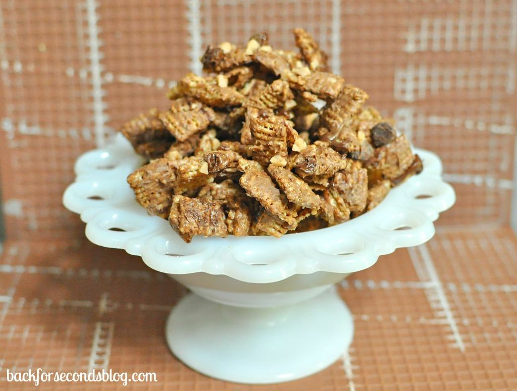 Cinnamon Toffee Chex Mix by Back For Seconds