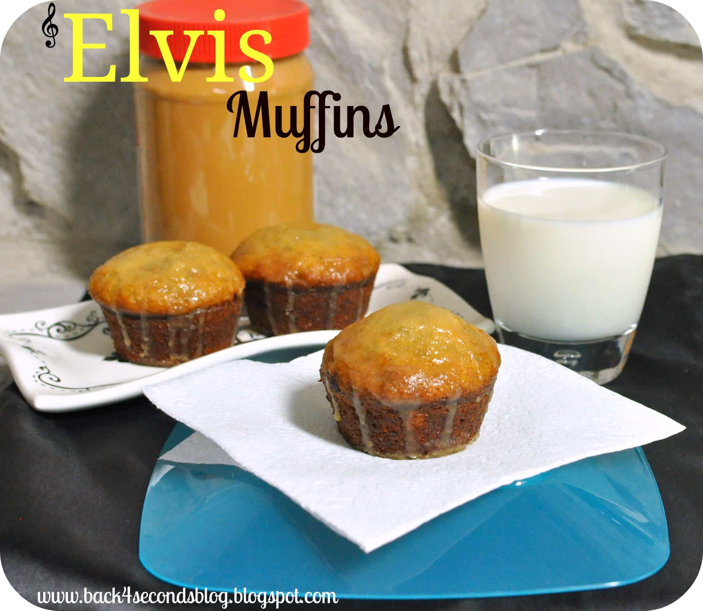 Elvis Muffins backforsecondsblog.com