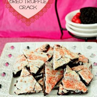 Raspberry Oreo Truffle Crack