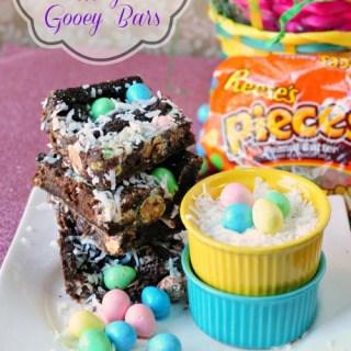 Easter Egg Magic Gooey Bars
