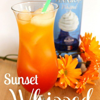 Sunset+Whipped+Cocktail