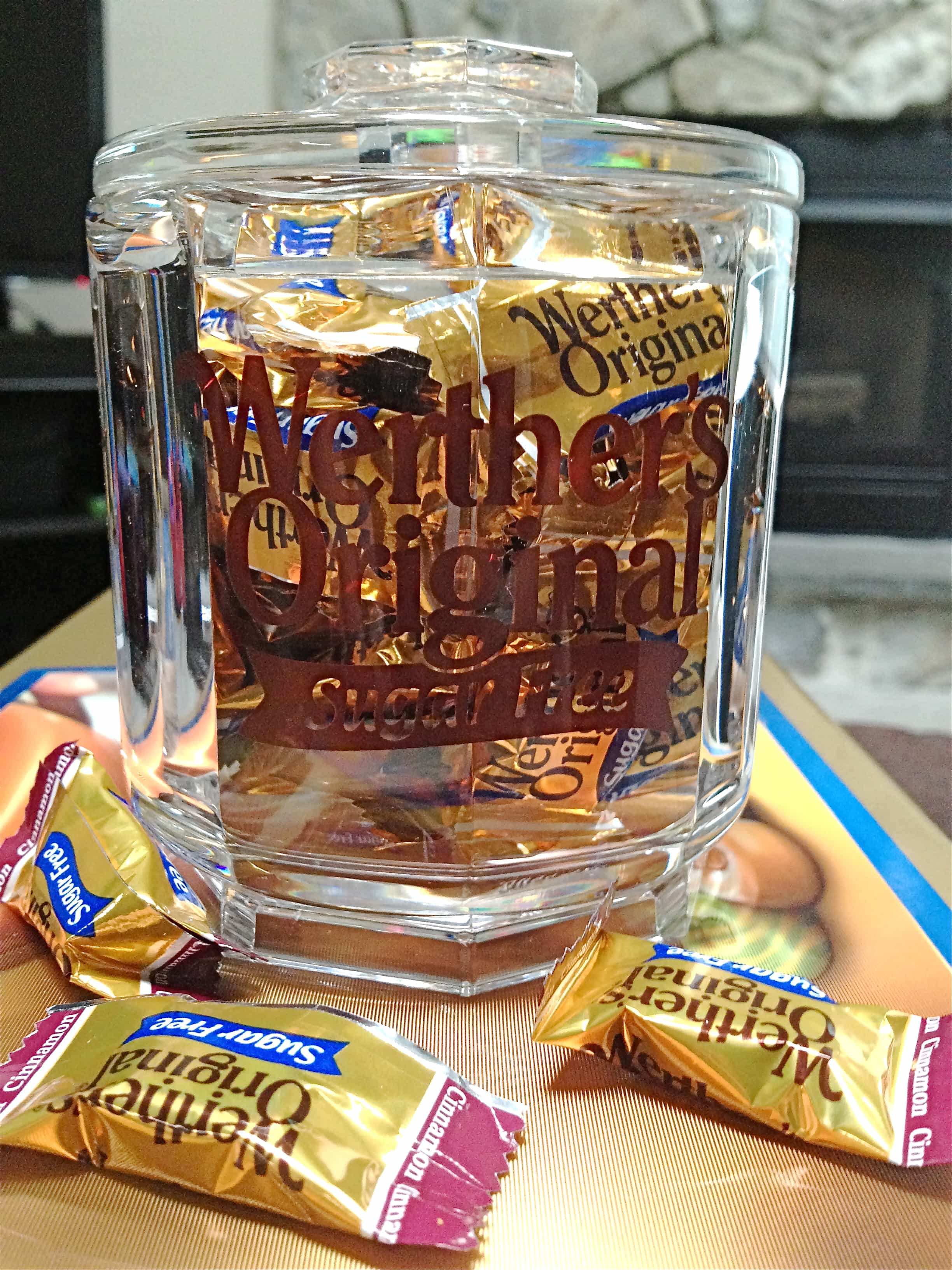 Werther's Original Sugar Free Caramel https://backforseconds.com