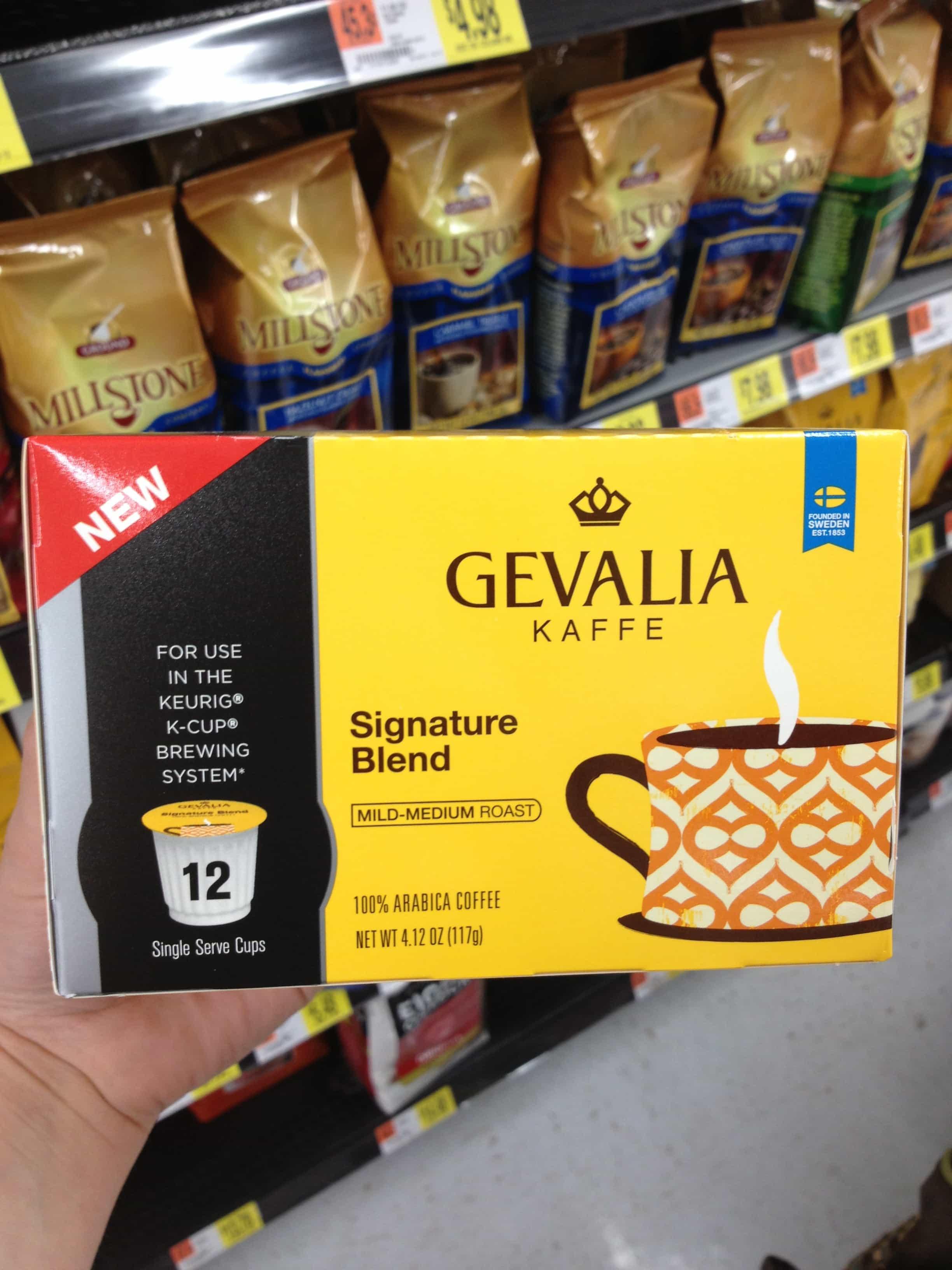 Frozen Peanut Butter Mocha's with Gevalia K-Cups