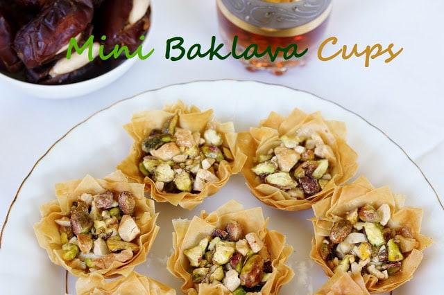 Min iBaklava Cups