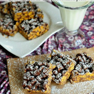 Muddy Buddy Crunch Bars