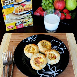 Quick and Easy Breakfast Bread Bowls