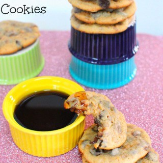 Chocolate Covered Bacon Cookies