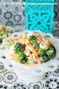 Easy Chopped Vegetable Salad