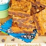 Gooey Butterscotch Chocolate Chip Bars