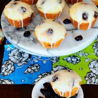 Cherry Lemonade Muffins