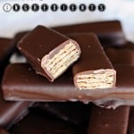 Easy Homemade Kit Kat Bars