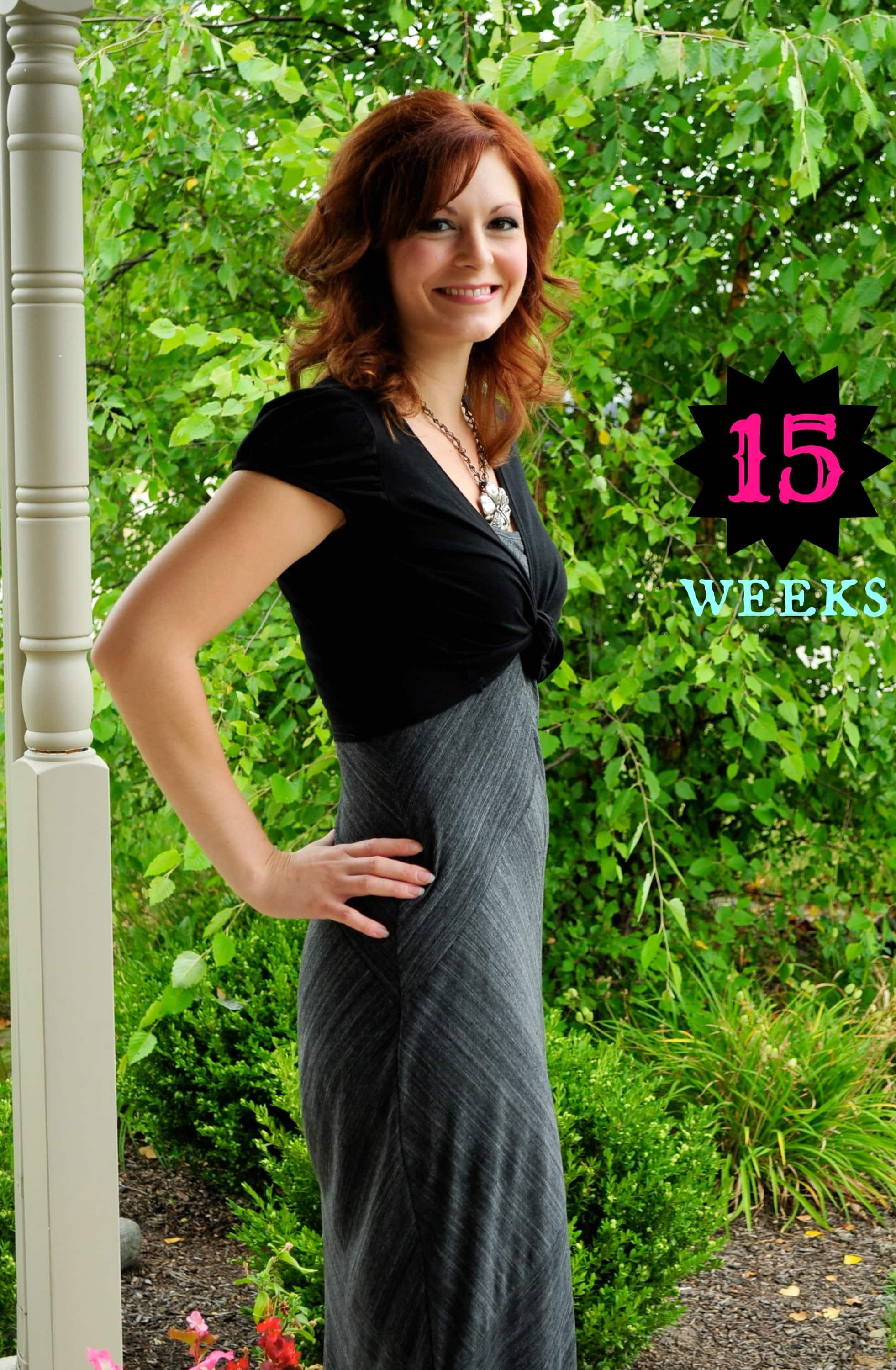 15 weeks pregnant!!!!