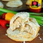 Easy Buffalo Chicken Empanadas