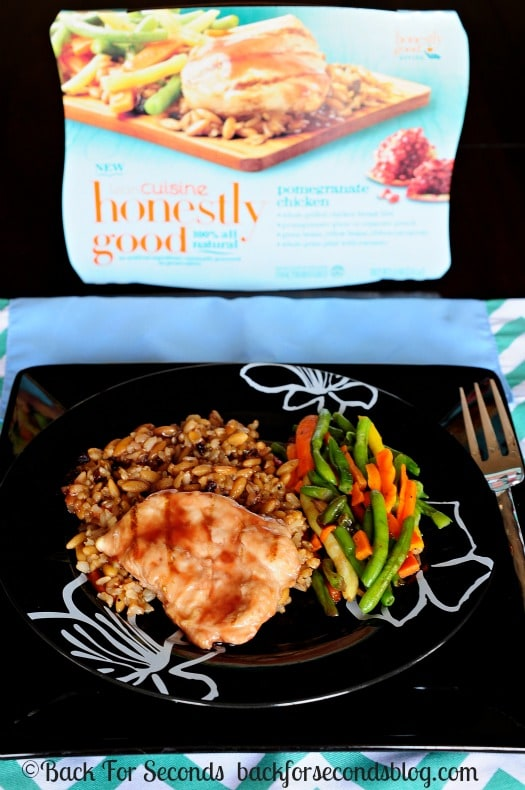 Healthy pomegranate chicken back for seconds for Are lean cuisine healthy