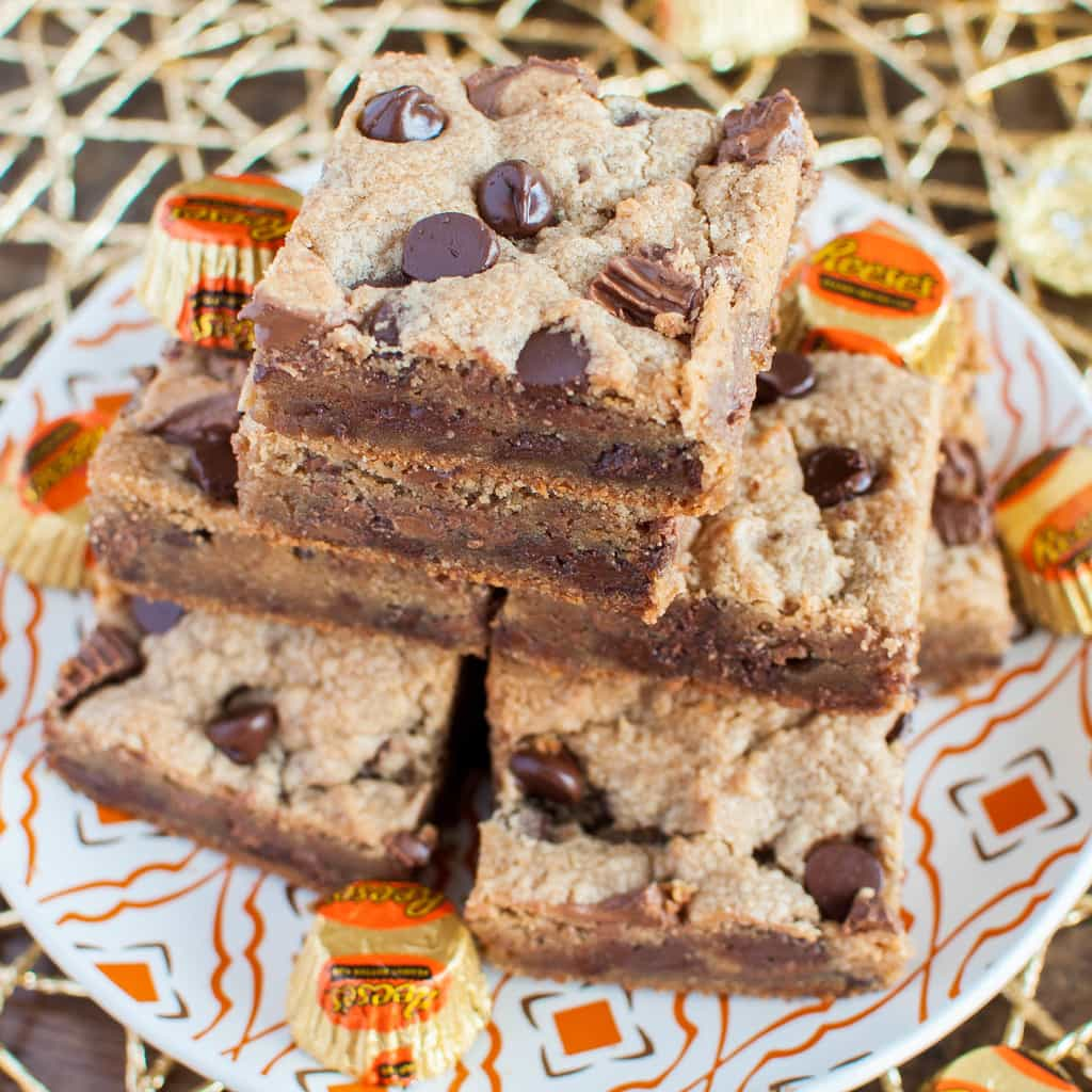 Peanut Butter Cup Bars And VIDEO