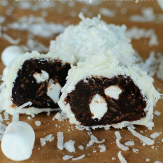 Brownie Snowballs