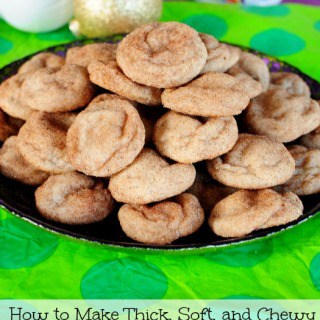 How to Make Thick, Soft, Chewy Snickerdoodles