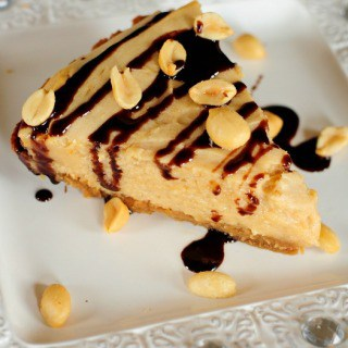 Easy Homemade Peanut Butter Pie {Gluten Free}