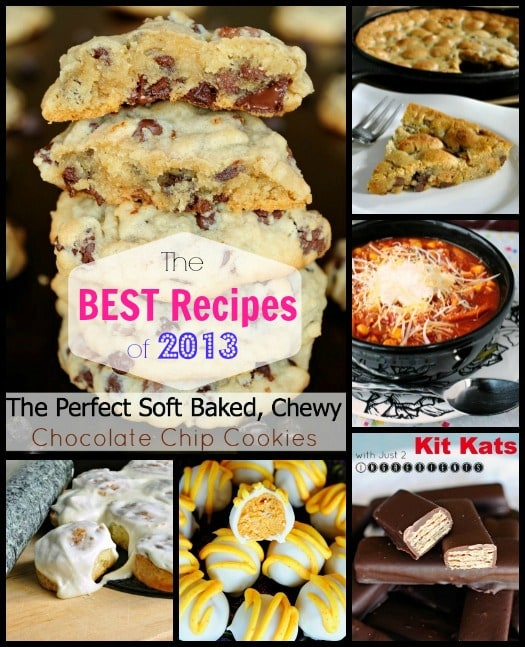 The very BEST Recipes of 2013!  http://backforsecondsblog.com #easyrecipes #dessertrecipes #easymeals