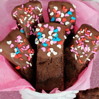 Chocolate Lover's Cookie Sticks