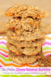 How to Make The Perfect Chewy Oatmeal Scotchie