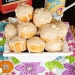 White Chocolate Cinnamon Tea Muffins
