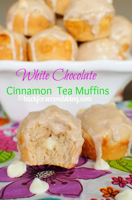 Recipe for White Chocolate Muffins from Sratch