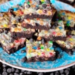 Chocolate Brownie Magic Bars