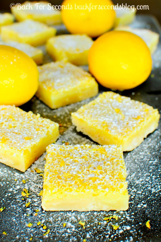 Easy Lemon Bars Recipe - These are the BEST Lemon Bars EVER!-2