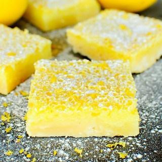 The Best Ever Lemon Bars